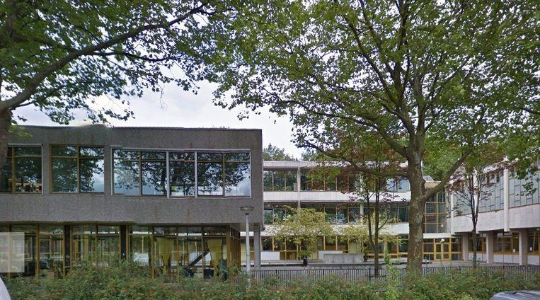 Middelbare school voor kinderen met stoornissen in het autistisch spectrum De Wissel in Slotermeer Beeld Google Street View