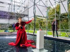 Kunstwerk over zeespiegelstijging moet de sfeer in de Rotterdamse wijk Oosterflank verbeteren