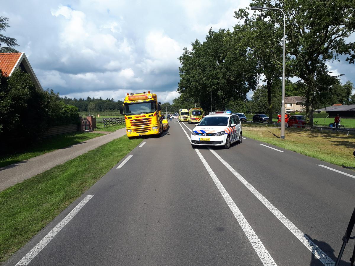 Het ongeluk gebeurde op de Cuneraweg.
