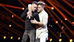 Mannelijk danskoppel schrijft tv-geschiedenis en wint Deense versie 'Dancing with the Stars'