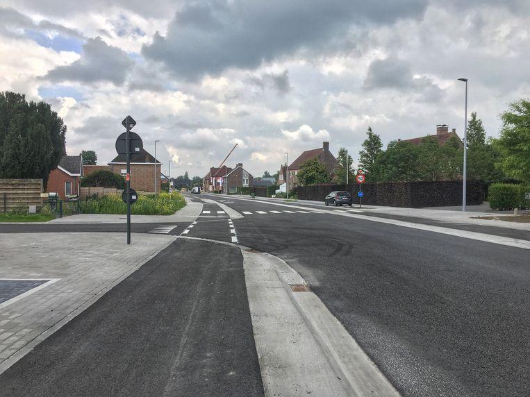 De Proosdijstraat is net opnieuw open voor het verkeer.