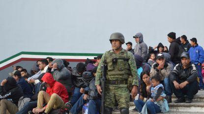 Mexico pakt 300 mensen op die VS wilden bereiken