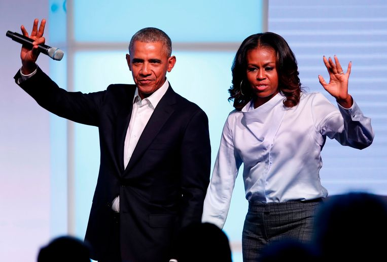 Barack en Michelle Obama