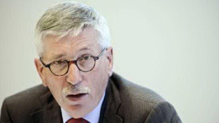 Thilo Sarrazin. (AFP) Beeld