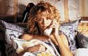 Meg Ryan in 'When Harry Met Sally', film uit 1989, toen het 'net-uit-bed-kapsel' internationaal furore maakte.