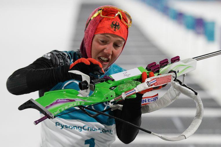 Laura Dahlmeier. Beeld AP