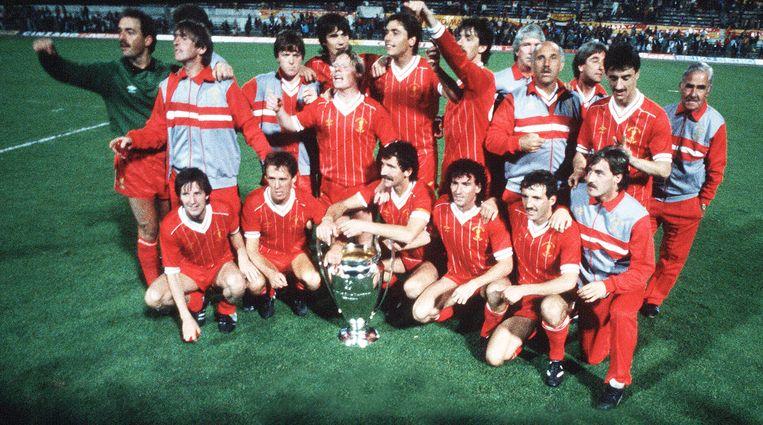 Liverpool pronkt met Europacup I. De 'Reds' haalden het met de strafschoppen.