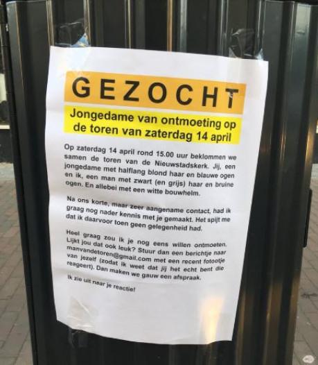 Zutphenaar plakt poster in zoektocht naar droomvrouw