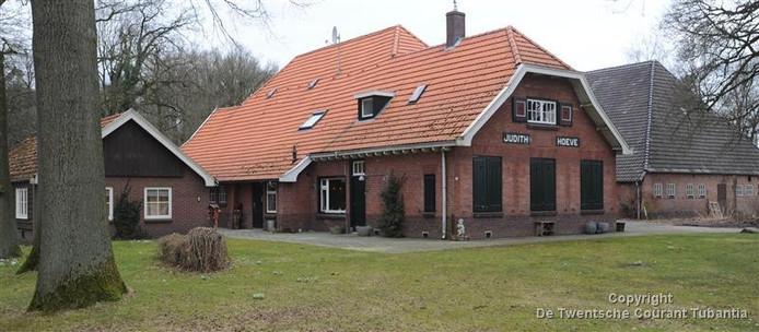 De Judithhoeve tussen Losser en Oldenzaal.