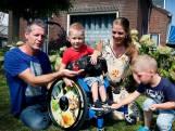7-jarige Guus boegbeeld van Spieren voor Spieren