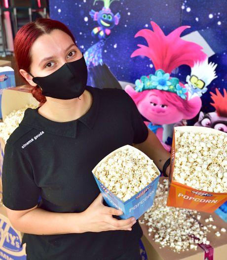 Geen popcorn of cola meer voor bij de film: bioscopen lopen een derde winst mis
