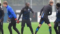 Opsteker voor Club Brugge: Balanta traint daags voor CL-duel tegen PSG mee