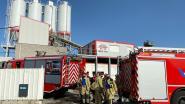 Werknemers blussen zelf brandje bij betoncentrale Mermans