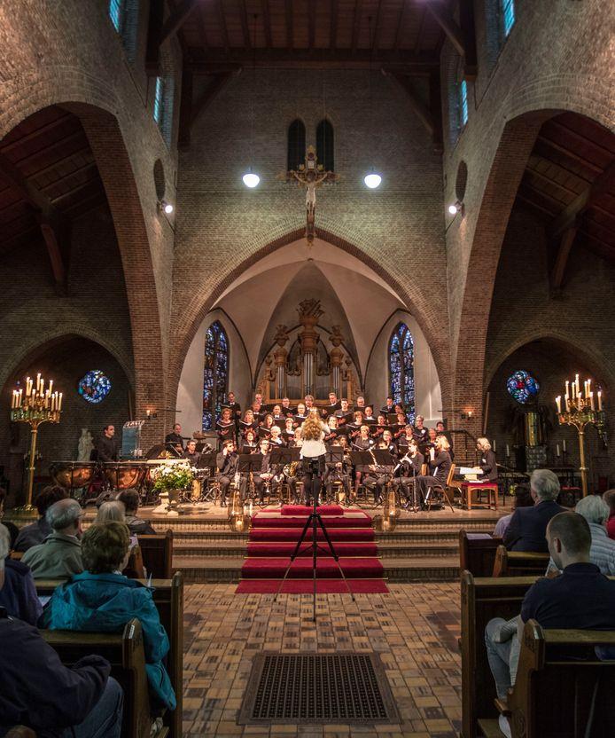 Herdenkingsconcert in de Willibrorduskerk in Eersel