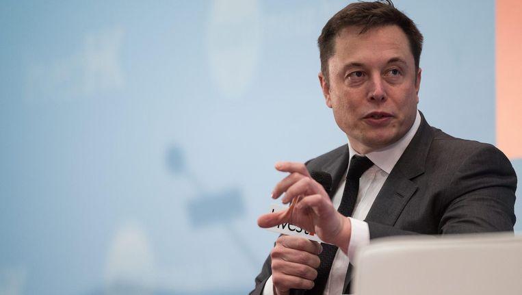 Elon Musk. Beeld anp