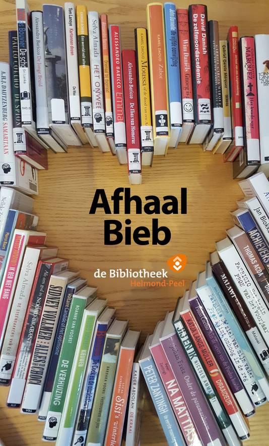 Logo van de AfhaalBieb