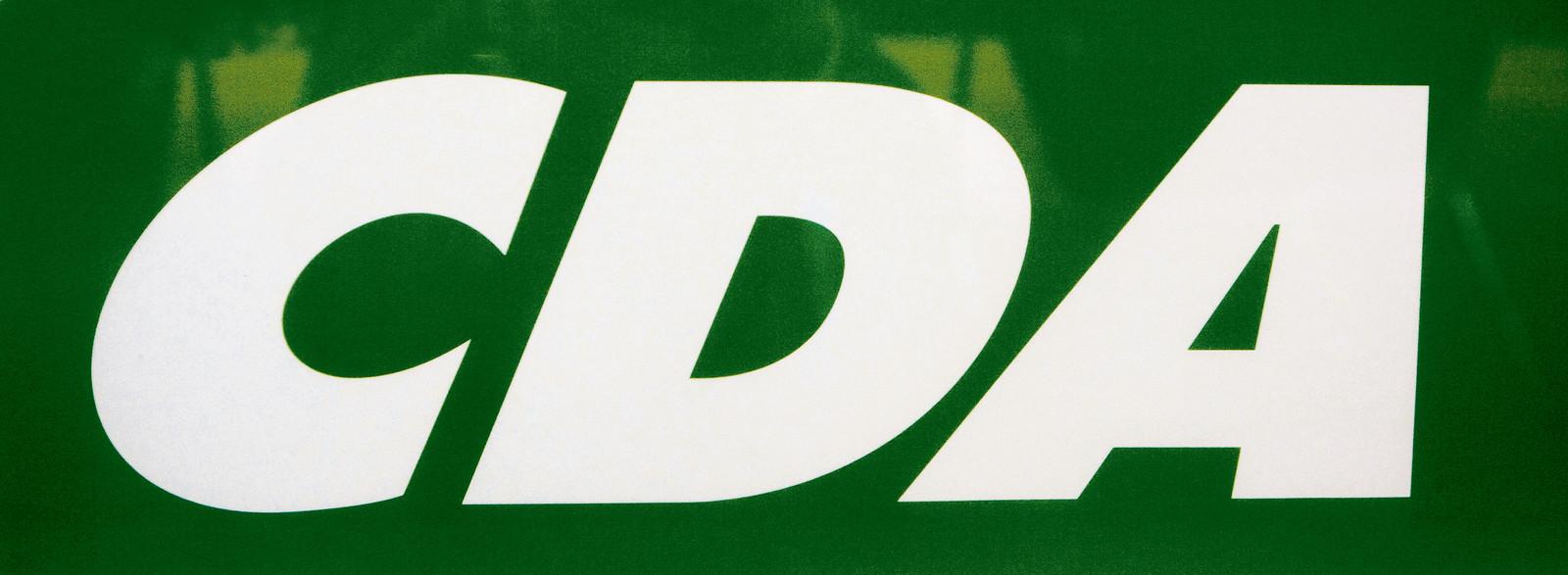 Logo van het CDA. ANP PHOTO XTRA KOEN SUYK