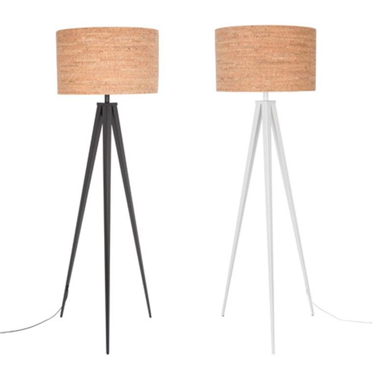 Staande Lamp Tripod Cork, 197,10 euro, www.flinders.be