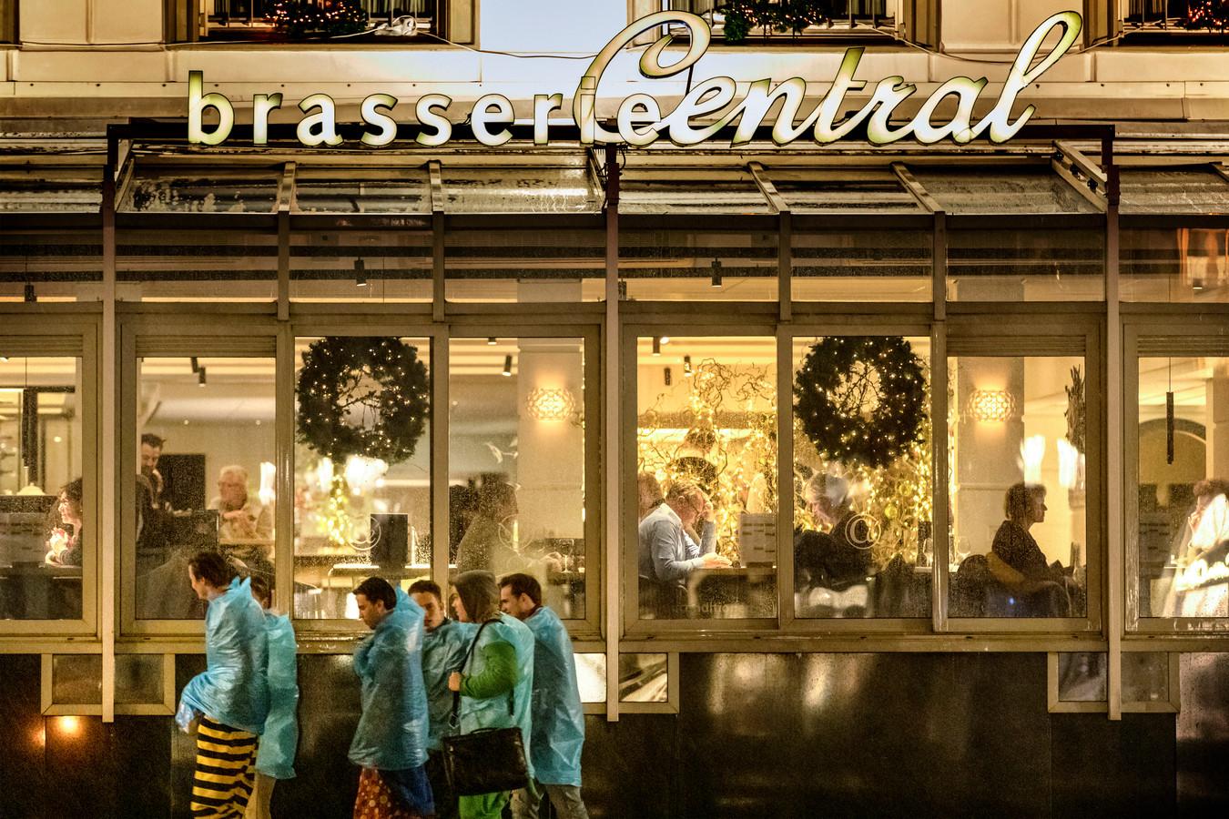 Nieuwe serre van Hotel Central