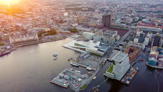 De Noorse hoofdstad Oslo.
