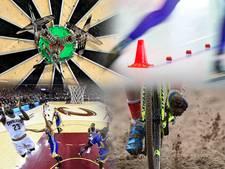 Sport Vandaag: eredivisietopper, derby op Kasteel, darts en WK handbal