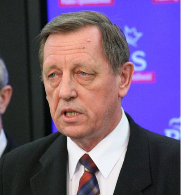 Jan Szyszko, milieuminister in Polen Beeld Foto Pis