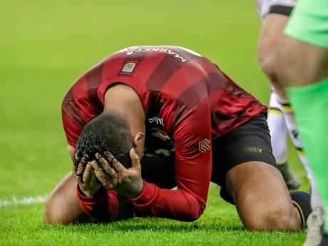 Na drie verloren wedstrijden komen de onderste plaatsen erg dichtbij voor Willem II