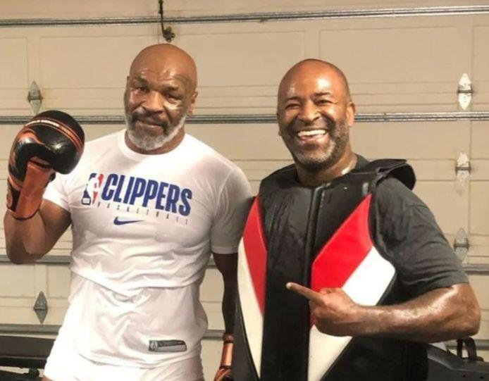 Mike Tyson et Rafael Cordeiro.