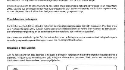 Stad waarschuwt voor brief groepsaankoop van Wikipower