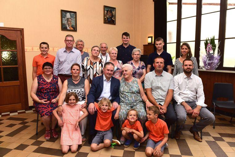 Feest bij de familie De Schutter