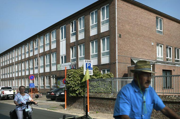 Mosa-RT, de vroegere scholengemeenschap Harlindis en Relindis, waar Verstappen naar de middelbare school ging. Beeld Marcel van den Bergh / de Volkskrant