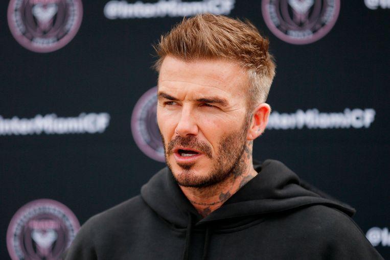 David Beckham. Beeld AFP