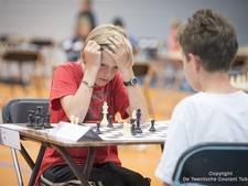 Jonge schakers in 't Wooldrik Borne