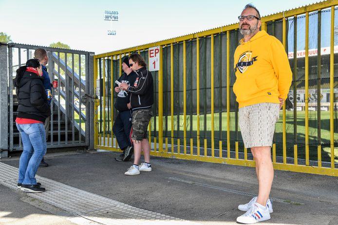 Erik Tolner (rechts) blijft Sporting trouw, ook als de club straks op een lager niveau terugkeert.