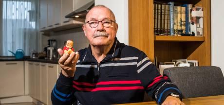 Jan heeft kerstmankaars van 72 jaar oud: 'Ik heb niets met kerst, wel met mijn moeder'