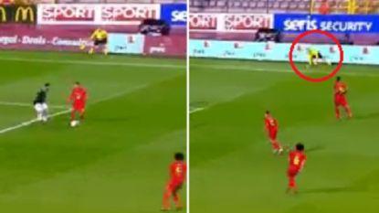 Wat u vrijdag niet zag: lijnrechter hield net geen enkelbreuk over aan actie van Eden Hazard