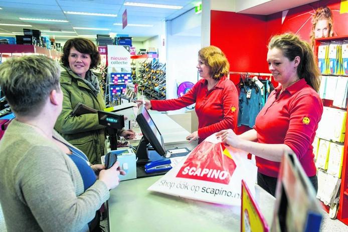 Winkelketen Scapino sloot dit voorjaar veel vestigingen, maar in Nijverdal komt een nieuw filiaal.