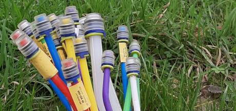 90 huishoudens in Hengelo al 11 dagen zonder internet, telefoon en tv door glasvezelstoring KPN