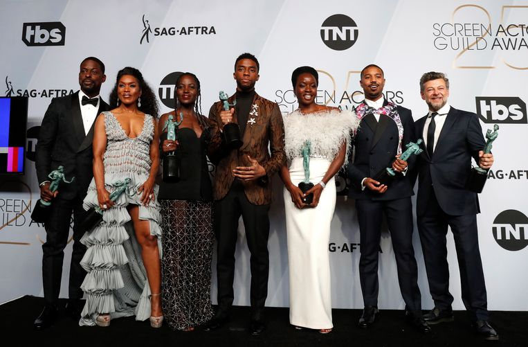 De cast van 'Black Panther'