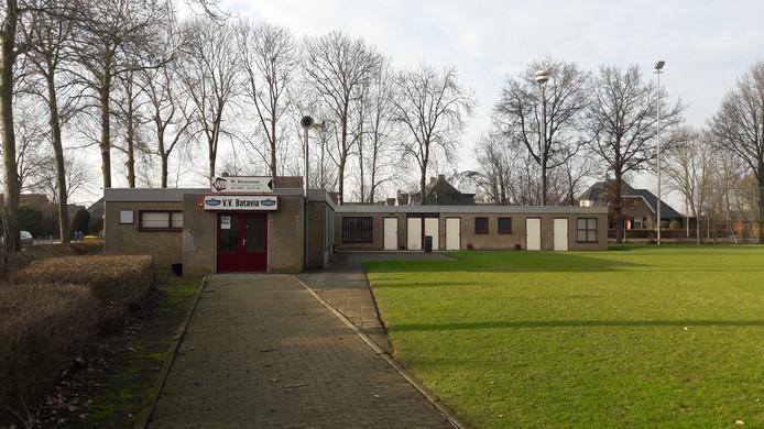 Sportpark De Hoppenhof in Batenburg.