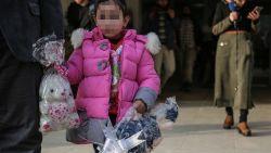 Brusselse kleuter Yasmine (4) terug in ons land