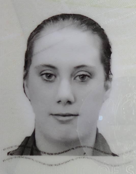 Een foto van Samantha Lewthwaite van haar valse Zuid-Afrikaanse paspoort.