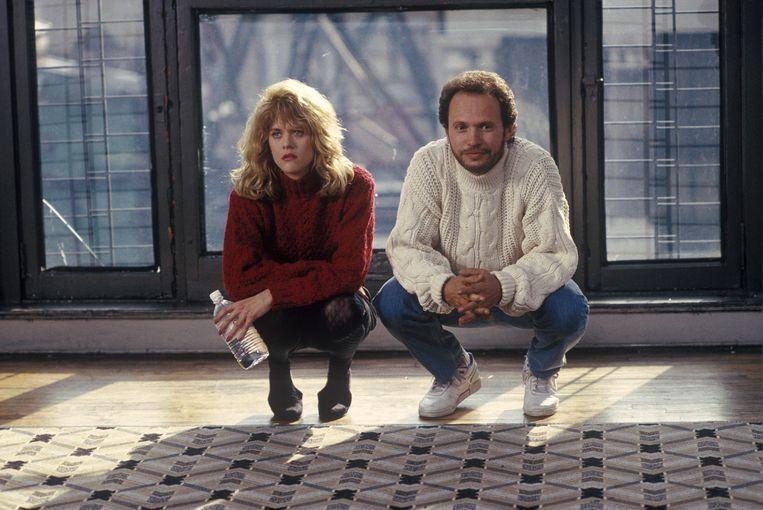 Meg Ryan en Billy Crystal in 'When Harry Met Sally'.