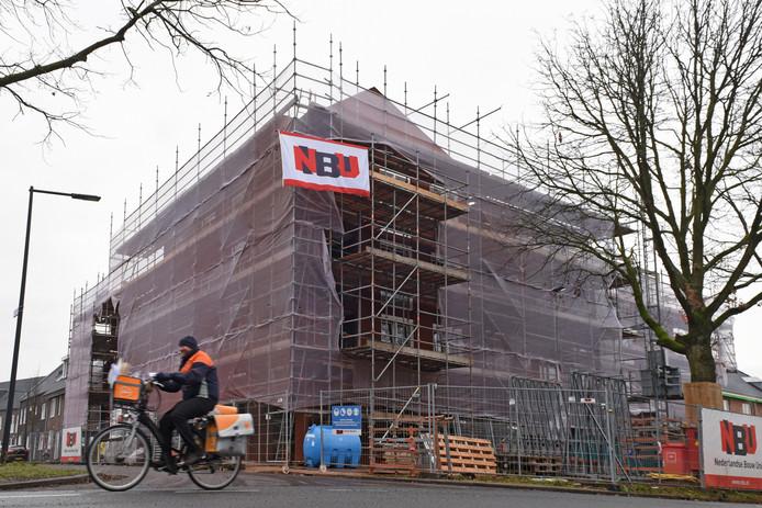 Vorig jaar is in de Driesprong in Breda het hoogste punt bereikt van een complex met sociale huurwoningen.