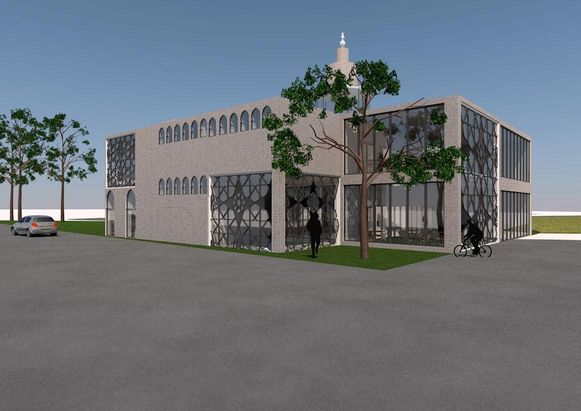 Het voorontwerp van architect Jeroen Dries is nog niet definitief.