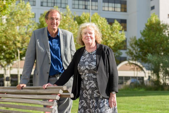 EINDHOVEN - Jeanny van den Berg en Peter Notten, bestuurders van WIJeindhoven.
