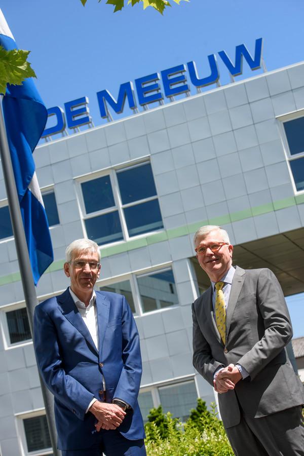 Directeur Ronald Slaats (links) en commissaris René Meeuwissen van De Meeuw.