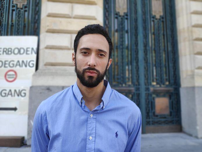 De Spaanse rapper Valtònyc.