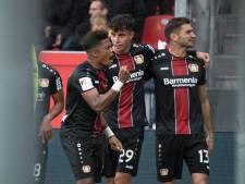 Havertz bezorgt Leverkusen eerste punten