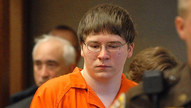 Brendan Dassey bij zijn veroordeling Beeld ap